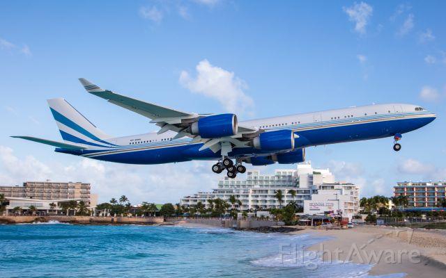 Airbus A340-500 (VP-BMS) - Las Vegas Sands Corporation A340-541