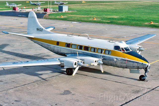 Rockwell Turbo Commander 690 (VH-CLT) - DE HAVILLAND (RILEY) TURBO SKYLINER (DH-114) - REG : VH-CLT (CN 14071) - PARAFIELD AIRPORT ADELAIDE SA. AUSTRALIA - YPPF 9/8/1981