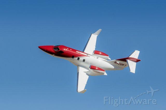 Honda HondaJet (N422KT) - Honda jet during flight display at Reno Air Races.