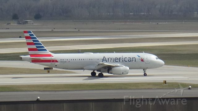 Airbus A320 (N660AW) - Haven't seen these in a while at Omaha. Date - March 21, 2021