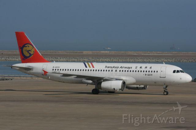Airbus A320 (B-22311) - Transasia Airways