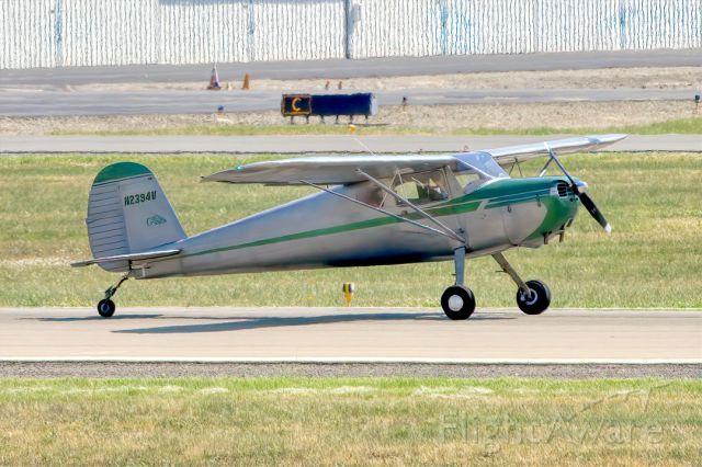 Cessna 140 (N2394V) - Cessna 140 at Livermore Municipal Airport (CA). April 2021