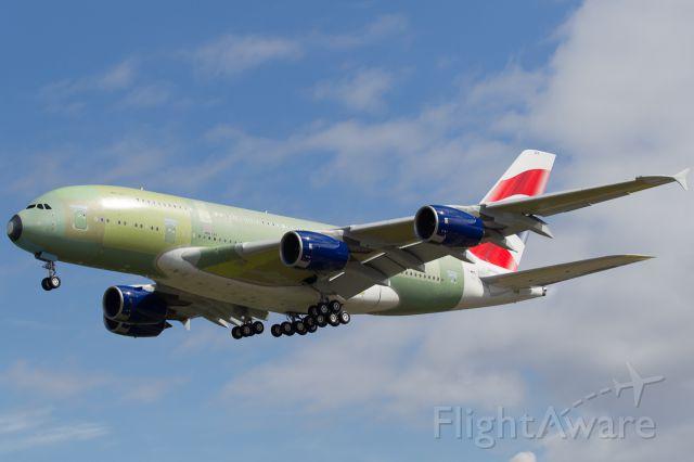 Airbus A380-800 (G-XLEC) - Airbus A380-841