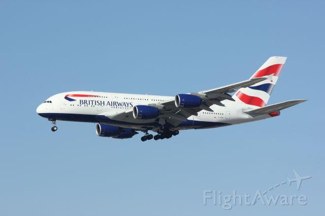 Airbus A380-800 (G-XLEA)