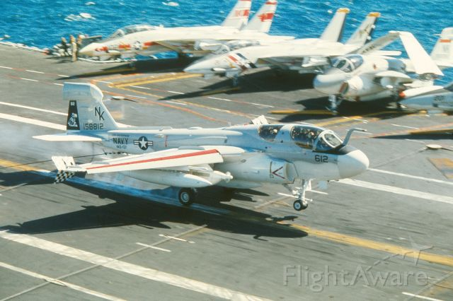 15-8812 — - First VAQ-137 WestPac cruise, in 1974-75, aboard USS Enterprise. Also the first F-14 deployment of VF-1 and VF-2.