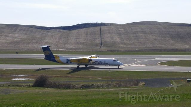 de Havilland Dash 8-400 (N403QX) - Horizon Air