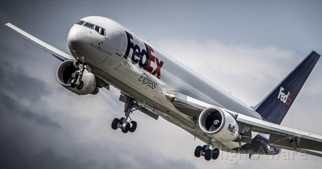 BOEING 767-300 — - Landing at Spokane International Airport On April 9th, 2015.