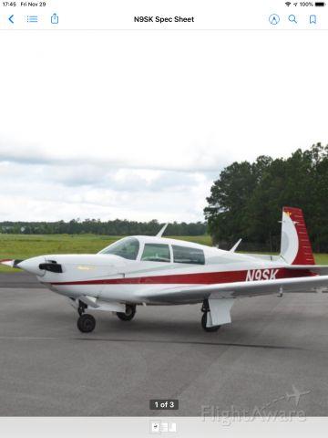 Mooney M-20 Turbo (N9SK)