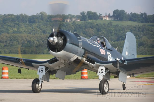 VOUGHT-SIKORSKY V-166 Corsair (N451FG) - Commemorative Air Force at Cincinnati Lunken Field Labor Day Weekend 2015