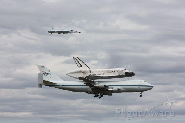 Boeing Shuttle Carrier (NASA905) - Taken 4-17-12