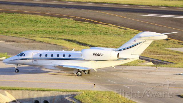 Cessna Citation X (N60ES)