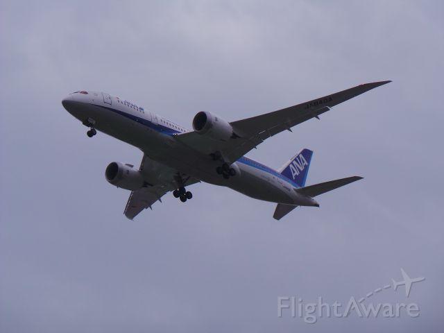Boeing 787-8 (JA840A) - 2015/08/29 NH853(HND-TSA) B787-8 JA840A