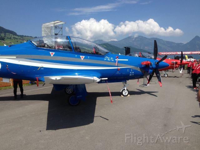 Pilatus PC-21 — - LSZC