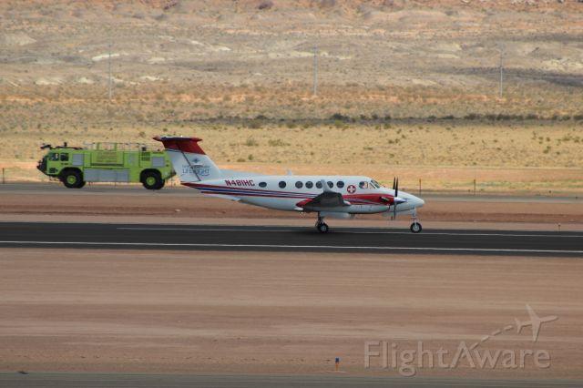 Beechcraft Super King Air 200 (N481HC) - 08/11/2020