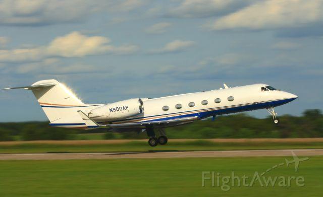 Gulfstream Aerospace Gulfstream IV (N900AP) - N900AP takes off from Colonal James Jabara Airport in Wichita Kansas.