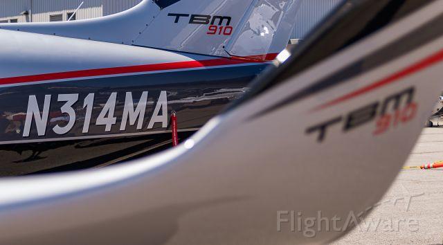 Daher-Socata TBM-900 (N314MA) - US Aircraft Expo @ KAPA 7/13/18