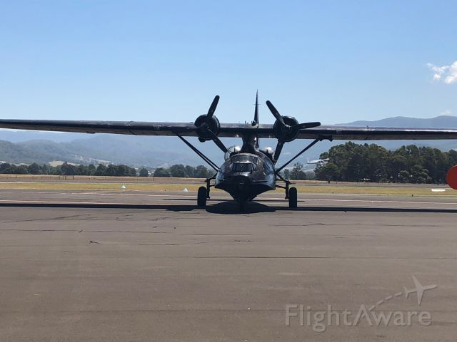 — — - Consolidated PBY-6A Catalina of HARS Museum