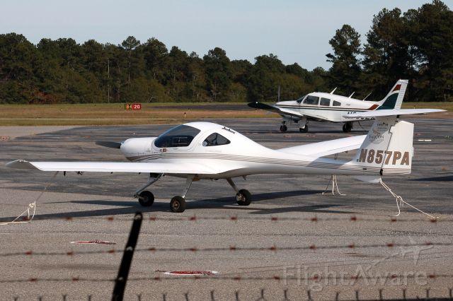 Diamond DV-20 Katana (N857PA) - Aircraft is Diamond DA-20-C1. Photo taken on 11/5/2020.