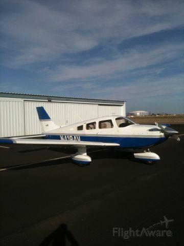 Piper Cherokee (N4184V) - Glendale Arizona near Cardinal Stadium