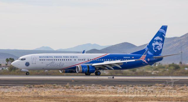 Boeing 737-700 (N265AK) - 01/10/2017 Tucson AZ. MFG 2016