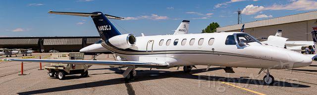 Cessna Citation CJ3 (N483CJ) - US Aircraft Expo @ KAPA 7/13/18