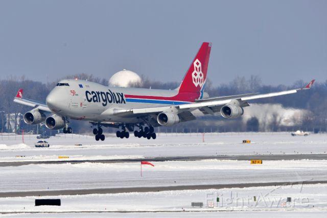 Boeing 747-400 (LX-UCV) - 23-R 02-19-21
