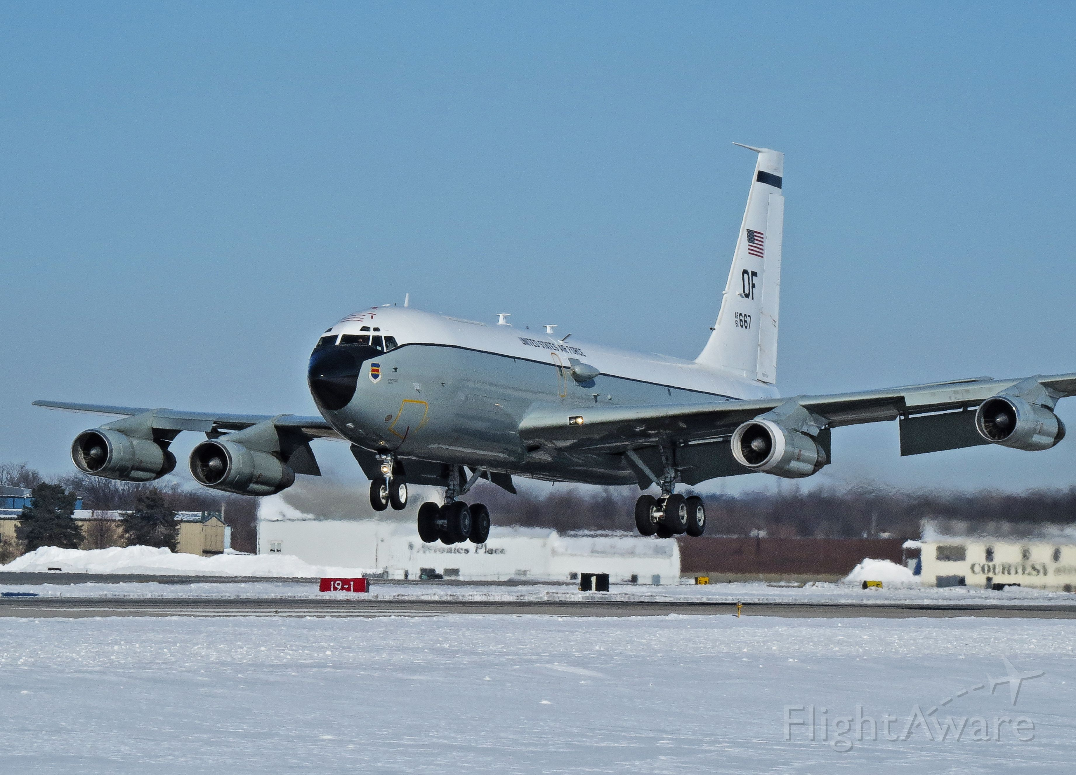 N61667 — - RC 135 Cobra Ball out of Offutt AFB