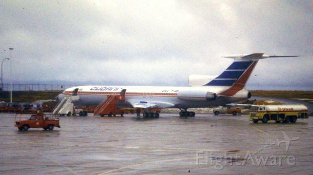 — — - Parked at Halifax Stanfield International Airport. 1988.