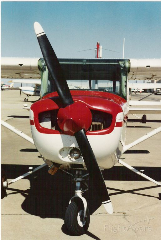 Cessna 152 (N69238) - On the ramp at Grande Prairie Airport in Texas (1988).