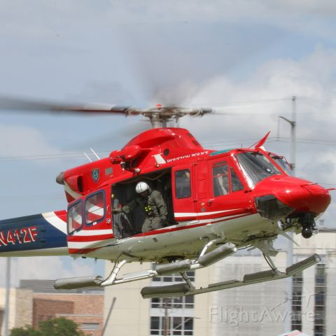 Bell 412 (N412F) - Houston Police Bell 412 during a training exercise