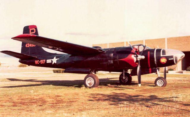 — — - Douglas A-26 Invader