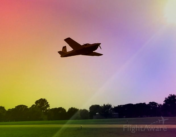 — — - Low Pass into the light. Polarized for rainbow effect