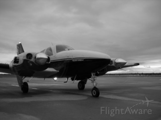 Beechcraft Baron (58) (N727LT) - LT arrives at Jabara airport after a line of storms passed through