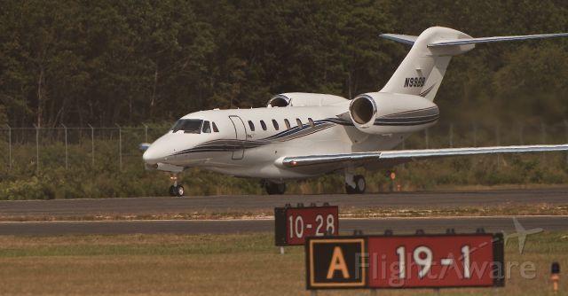 Cessna Citation X (N99BB) - Departure Cape May County NJ