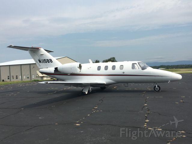 Cessna Citation CJ1 (N115BB) - Ramp KMEZ