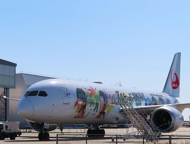 Boeing 787-9 Dreamliner (JA873J) - I took this picture on Mar 19, 2020.<br />JL8122/19 HND-NRT