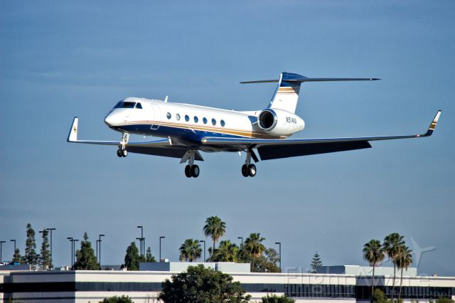 Gulfstream Aerospace Gulfstream V (N514VA) - N514VA Landing at KLGB