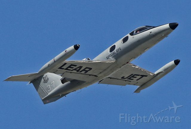 Learjet 24 (N3137) - Taking off from the Van Nuys Airport.