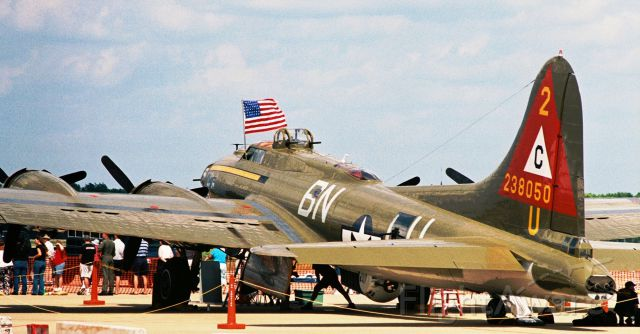 "N900RW — - B-17G ""Thunderbird"" at Barksdale AFB Airshow in 2005."
