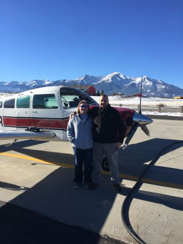 Beechcraft Sundowner (N8022R) - Buena Vista Colorado