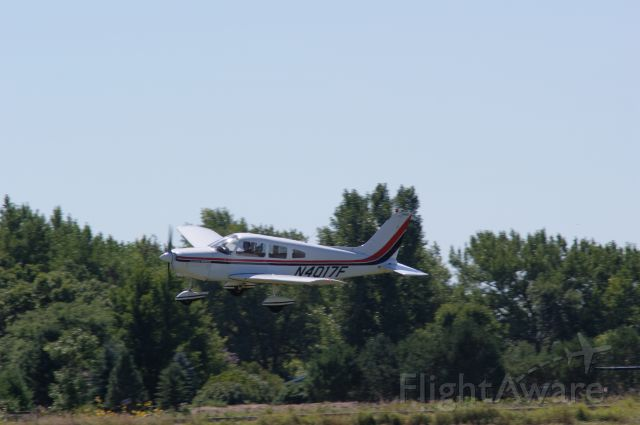 Piper Cherokee (N4017F) - Air Haven fly by.