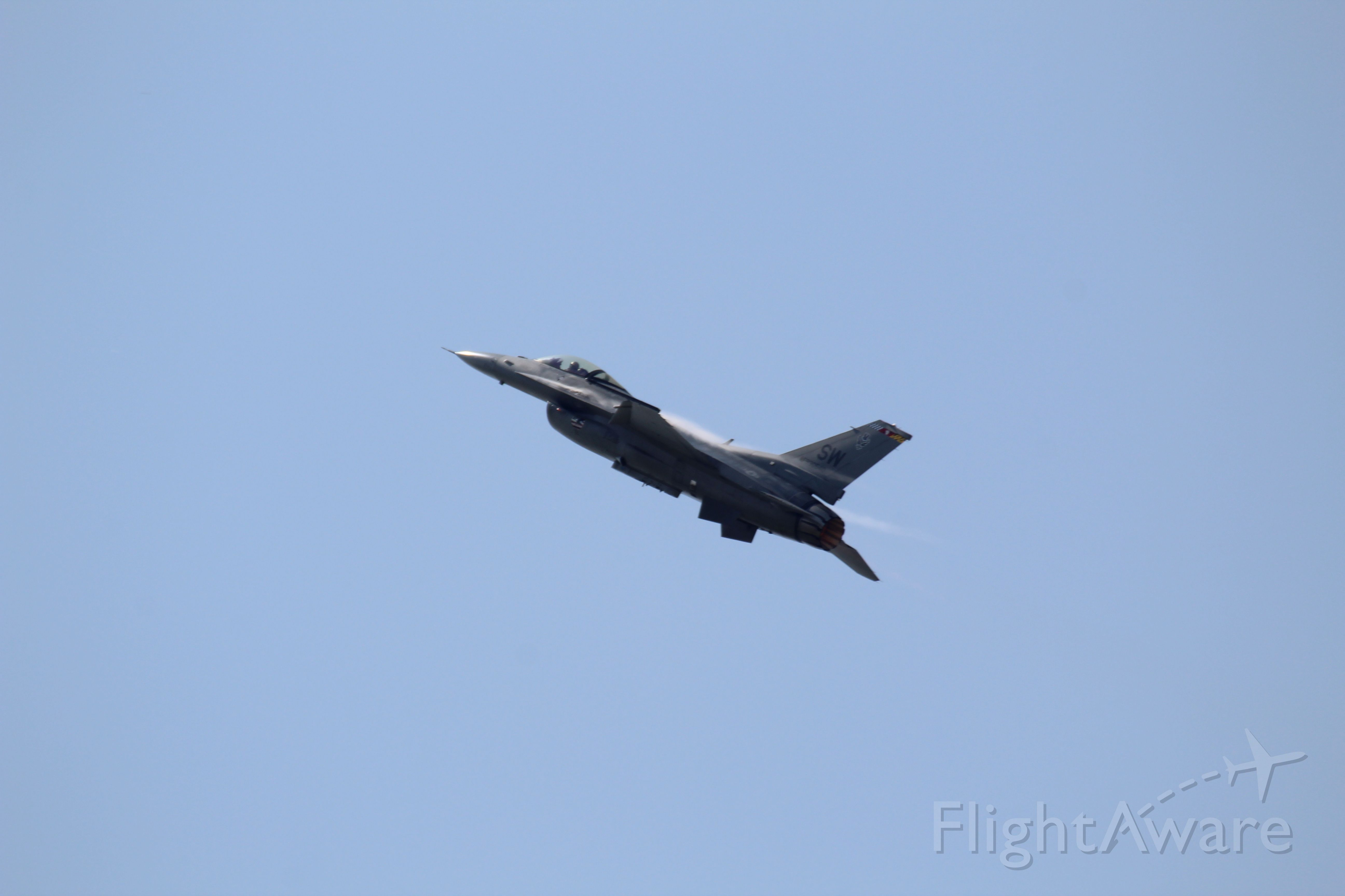 Lockheed F-16 Fighting Falcon (93-0540)