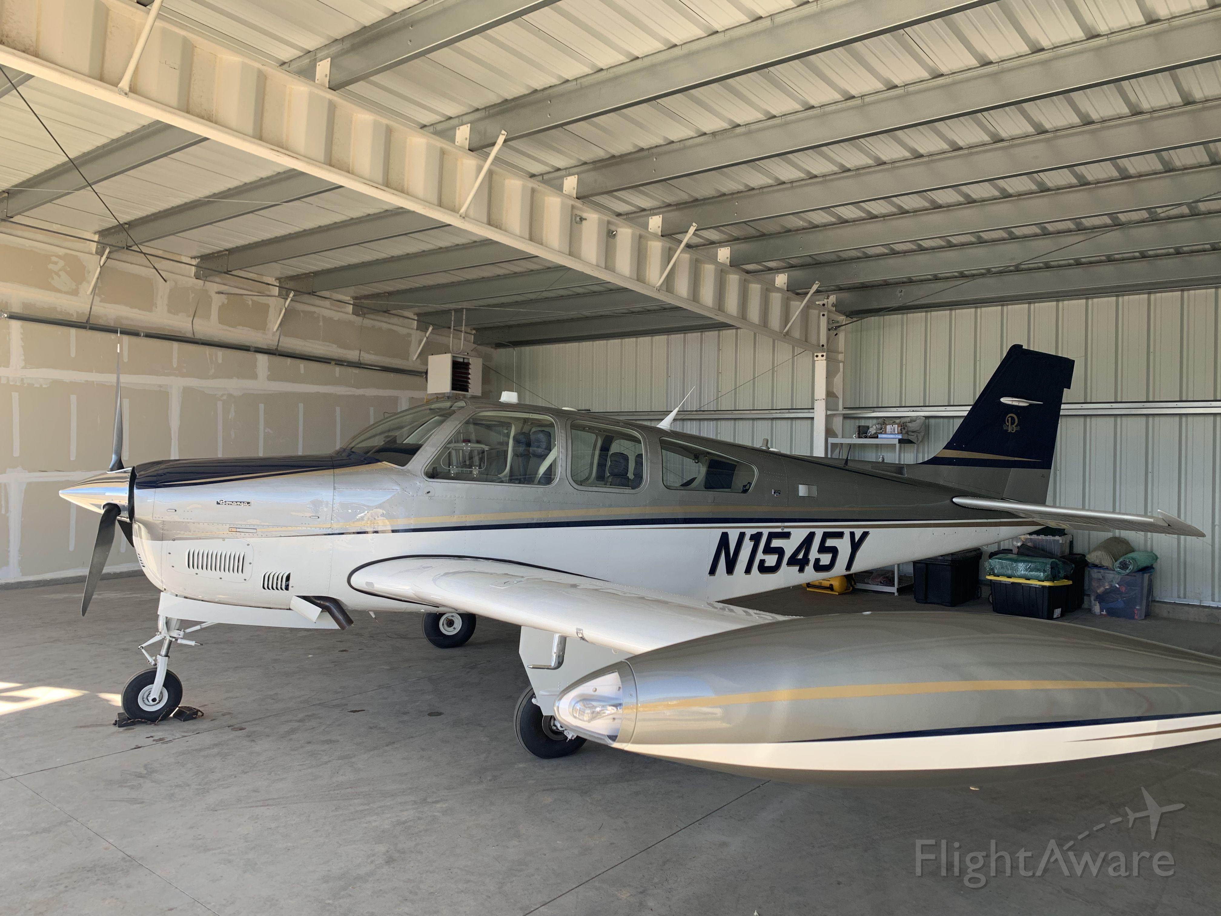 Beechcraft Bonanza (33) (N1545Y) - TurboNormalized Bonanza F33a 1989