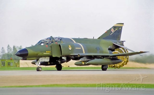 McDonnell Douglas F-4 Phantom 2 (74-1649) - Alconbury airshow early 80's