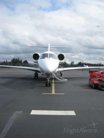 Cessna Citation X (N779XJ) - XOjet arriving at Hillsboro Aviation
