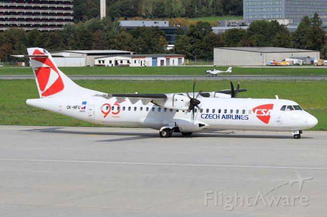 Aerospatiale ATR-72-500 (OK-NFU)