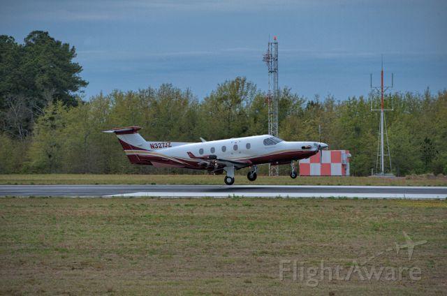 Pilatus PC-12 (N327JZ) - Departures last day Masters 2018