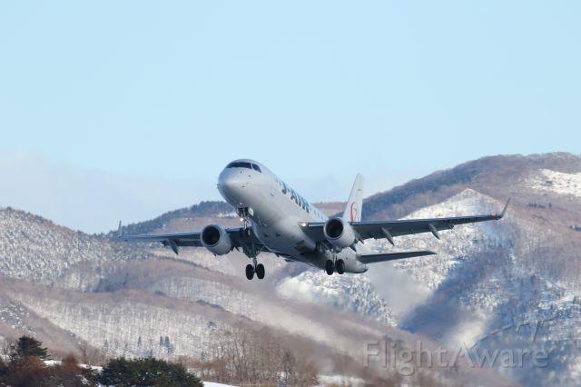 Embraer 170/175 (JA226J) - 21 January 2016:HKD-ITM.