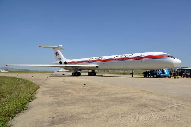 P-885 — - Air Koryo IL-62M at FNJ