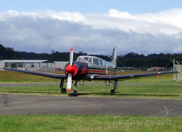 VH-BVT — - Yakovlev Yak-18T VH-BVT at Burnie Wynyard Airport Tasmania on 11 December 2009.